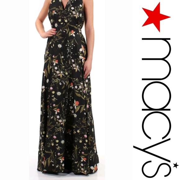 Rachel Roy Women/'s Strapless Floral-Print Dress